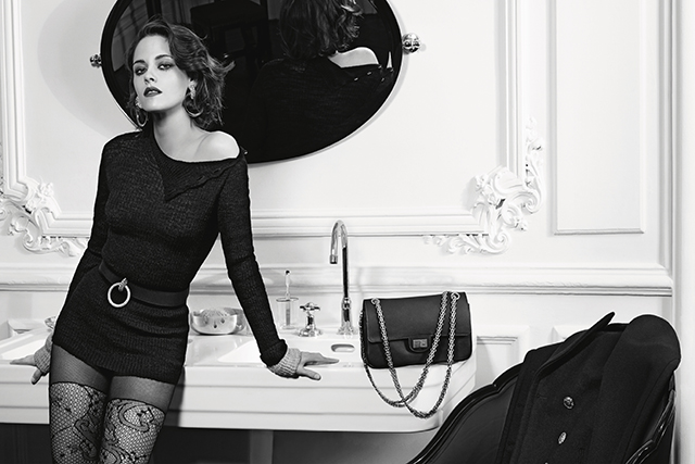 Kristen Stewart gets sultry for the Chanel Métiers d'art campaign (фото 1)