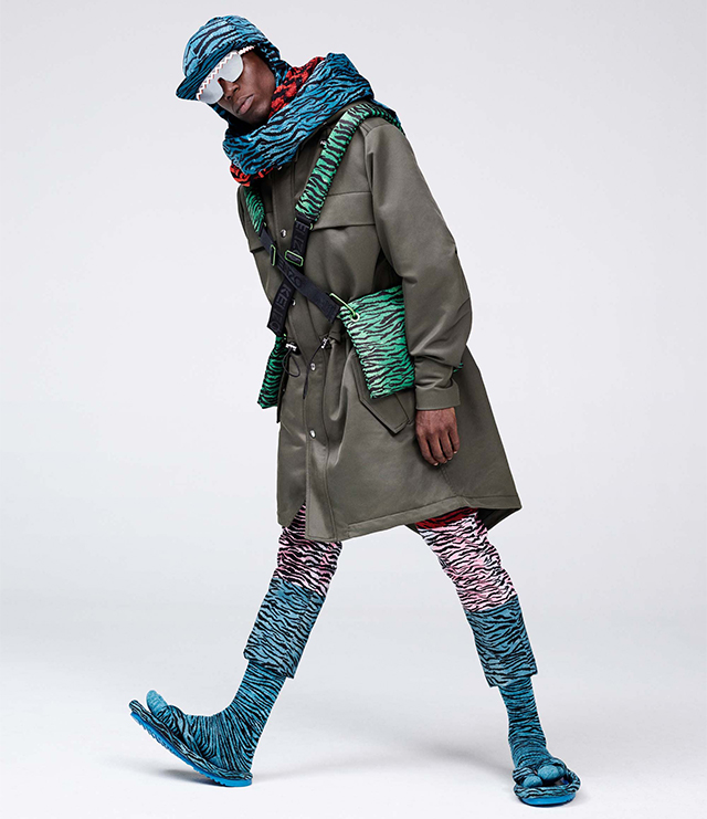 Your first look at Kenzo x H&M is here! (фото 1)
