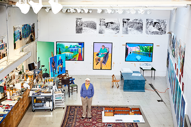 iPad paintings? Why you need to see David Hockney's NGV show