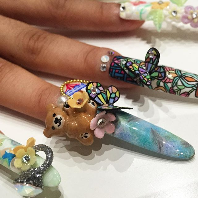 From DJing to digits: meet the queen of OTT nail art