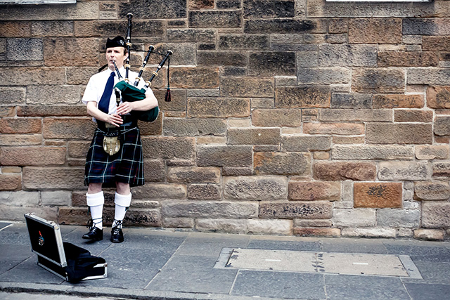 Travel diary: up close and personal in Edinburgh