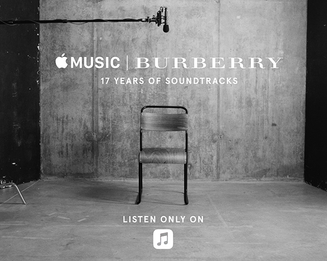 Your weekend playlist is brought to you by Burberry