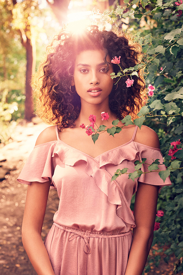 Dutch model Imaan Hammam talks ballet, Bali and her new project