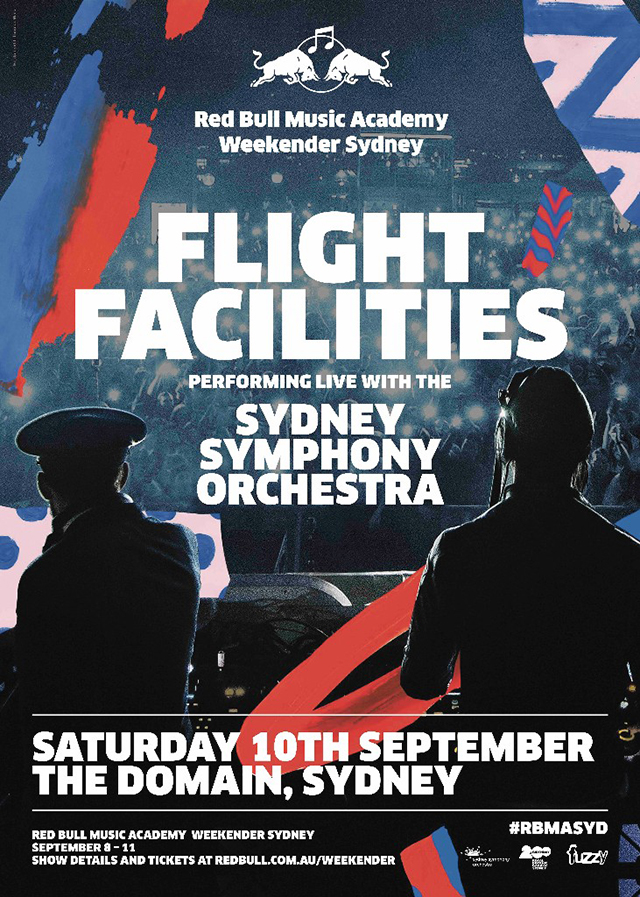Flight Facilities are teaming up with the Sydney Symphony Orchestra