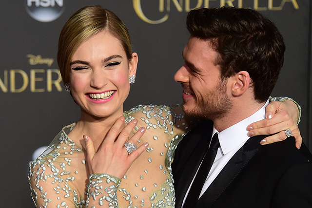 "Lily James: ""I accidentally stamped on someone's head"" (фото 1)"
