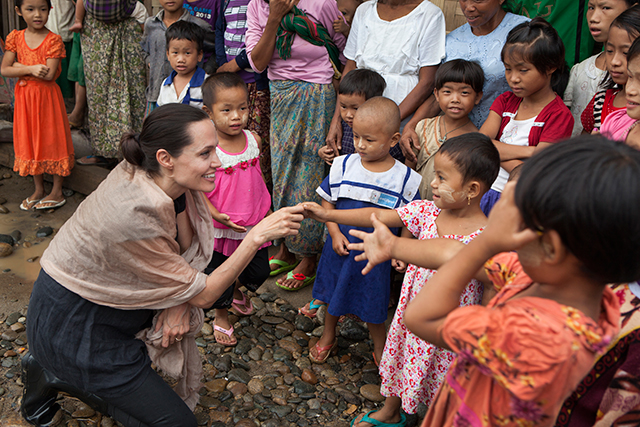 "Angelina Jolie exclusive: ""I have many moments of fragility"""