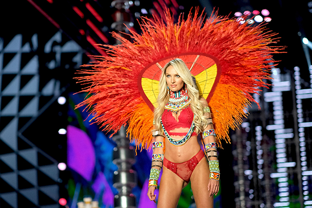 Candice walked the Victoria's Secret in Shanghai less than one month ago. (Image: Getty)