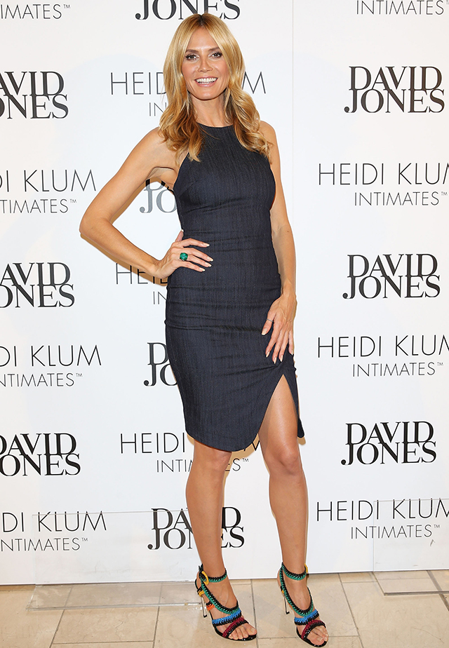 """I never really diet,"" Heidi Klum talks fitness, food and fave lingerie"