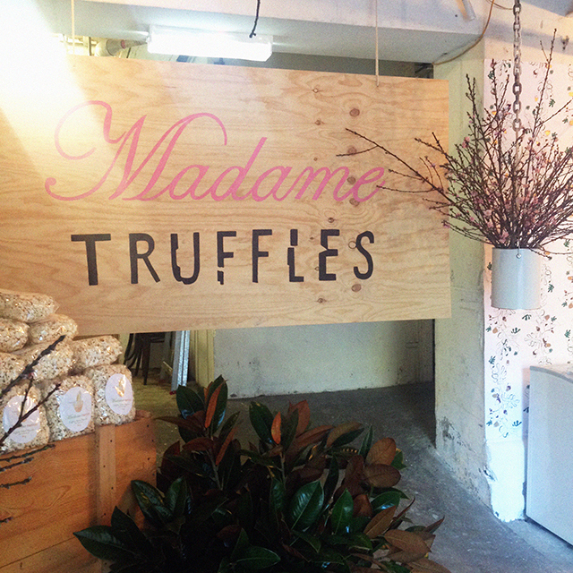 It's time! Madame Truffles pop ups in Sydney and Melbourne