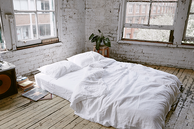 Linen dreams: In Bed launch summer sleepwear