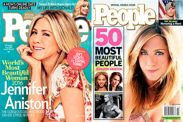 Jennifer Aniston: the woman who doesn't age