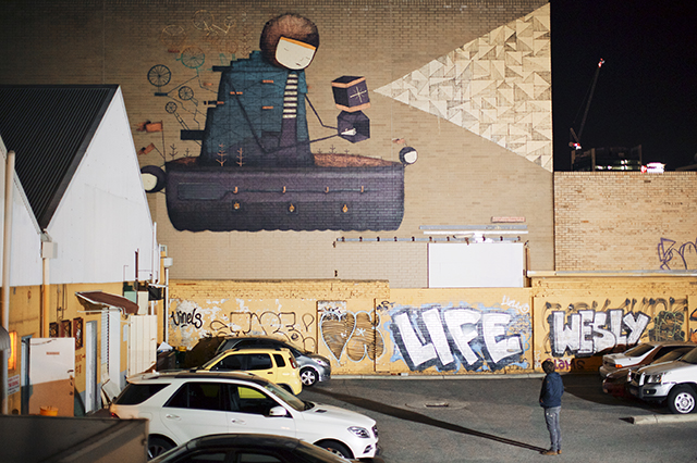 Taking art to the streets: PUBLIC 2015