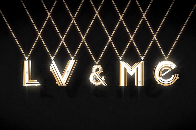Buy me a vowel: LV & ME alphabet jewellery