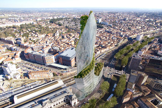 The Libeskind-designed skyscraper garden tower