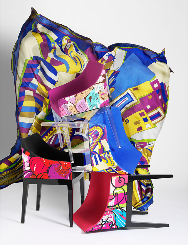 Sitting pretty: the Pucci X Philippe Starck collab (фото 1)