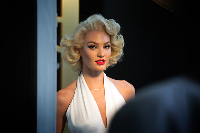 Get the look: Candice Swanepoel gets all dolled up as Marilyn Monroe