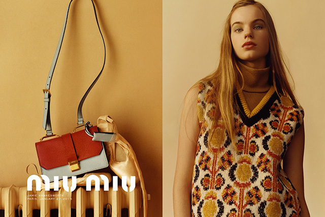 One to watch: meet the new Miu Miu girl