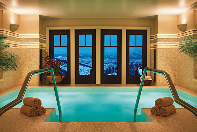 The Montage Deer Valley spa