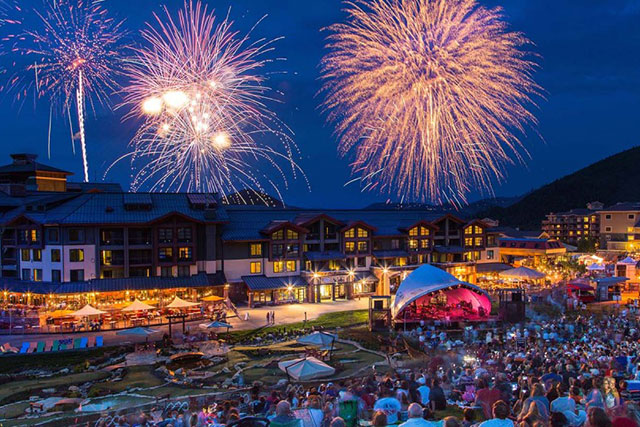 Live outdoor music Park City