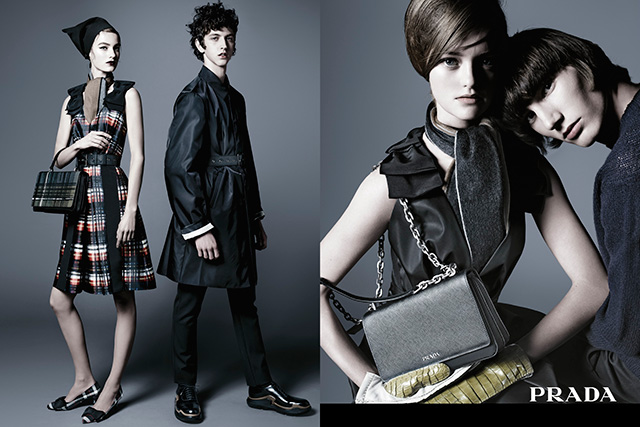 Another Aussie model rules the new Prada pre-fall campaign (фото 4)