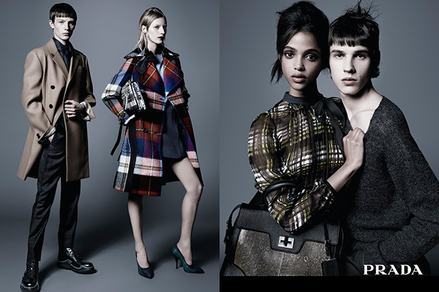Another Aussie model rules the new Prada pre-fall campaign (фото 3)