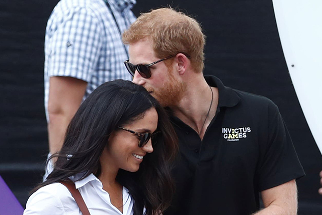 Meghan Markle and Prince Harry at the Invictus Games (Image: Getty)