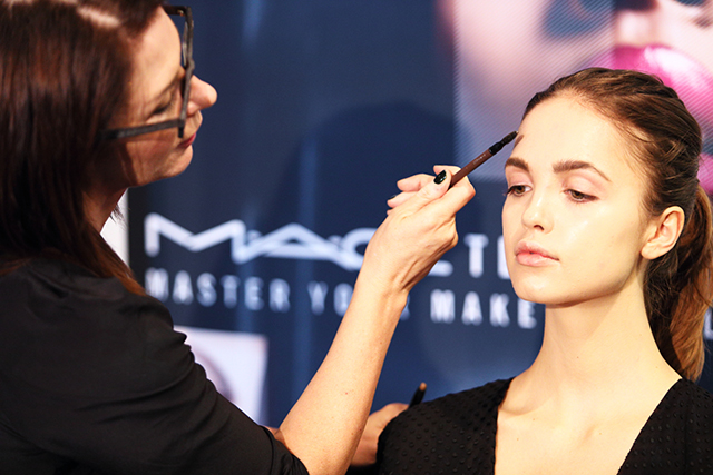 M.A.C have launched an app that makes doing your make-up easier