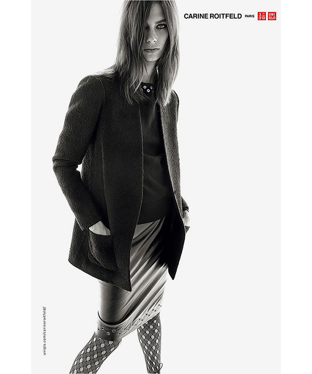 Carine Roitfeld for Uniqlo lands in stores this week! (фото 8)