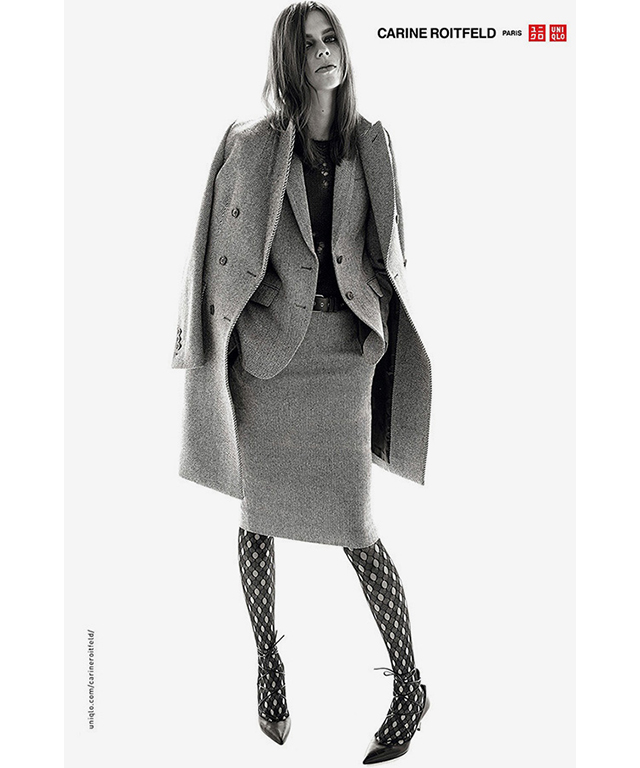 Carine Roitfeld for Uniqlo lands in stores this week! (фото 5)
