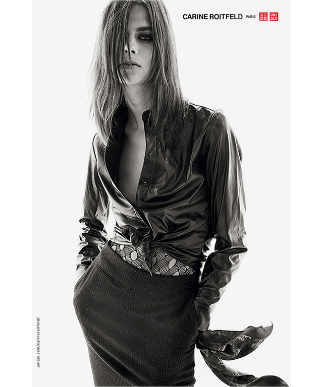 Carine Roitfeld for Uniqlo lands in stores this week! (фото 6)