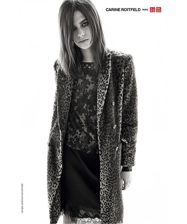 Carine Roitfeld for Uniqlo lands in stores this week! (фото 7)