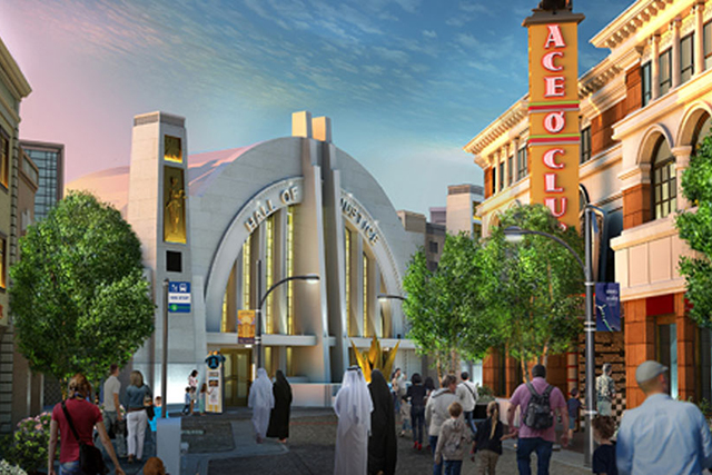 Warner Bros. World Abu Dhabi theme park