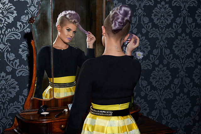 Fresh face: Kelly Osbourne launches Westfield's S/S '15 campaign (фото 1)