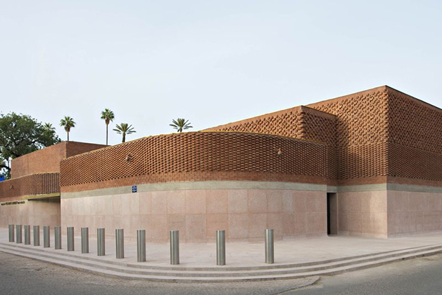 YSL Marrakech Museum. Image: Bloomberg