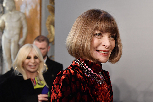Anna Wintour Vatican preview exhibit. Image: Tiziana Fabi/AFP/Getty Images
