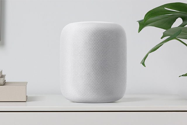 Apple HomePod. Image: Apple