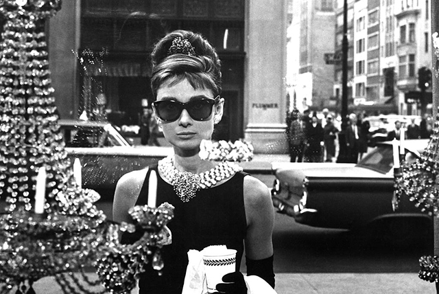 Audrey Hepburn in Breakfast at Tiffany's. Image: Getty