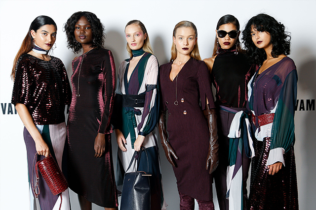 Ginger & Smart A/W '18 backstage at VAMFF