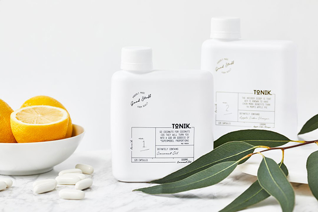 Tonik Coconut Oil capsules. Image: The Free People blog