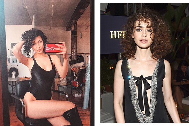 (Images: @bellahadid | @lilyjcollins)