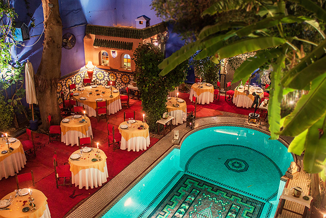 The buro city guide marrakech buro 24 7 australia buro for Buro restaurant