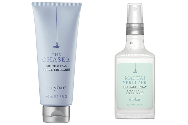 Alli Webb's favourite Drybar products: Chaser and Mai Tai Spritzer