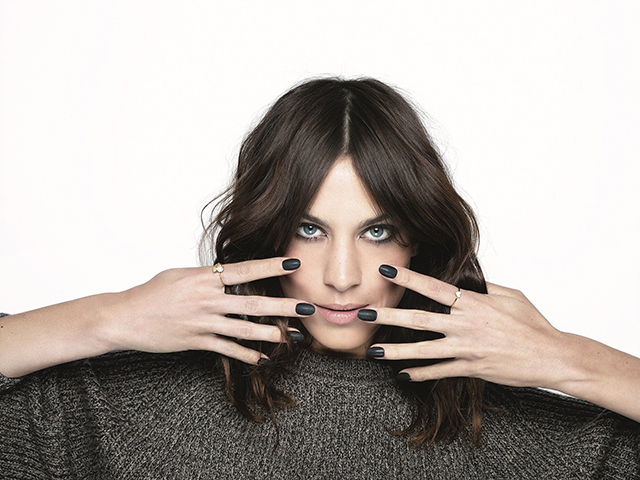Alexa Chung on the perfect nail shape and how to master cat-eye make-up