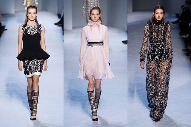 A/W '16 recap: glam rock, new romantics and frou frou at PFW