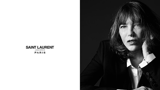 At 69, Jane Birkin has landed her first Saint Laurent campaign