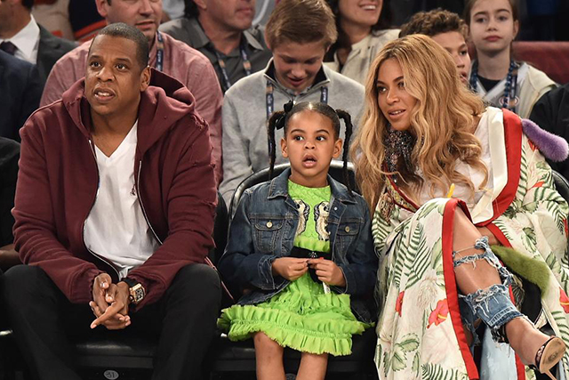 The Carter family goes from three to five