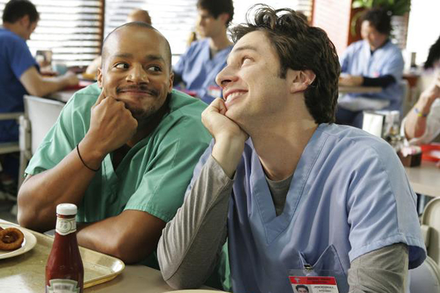 Turk and J.D. (Source: Scrubs)