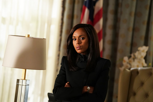 Kerry Washington in 'Scandal'. Image Mitch Haaseth/ABC via Getty