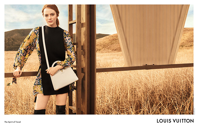Emma Stone's first Louis Vuitton campaign is (obviously) stunning (фото 1)