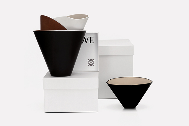 Bowled over: Loewe's luxe leather vessels are a must for design lovers (фото 3)